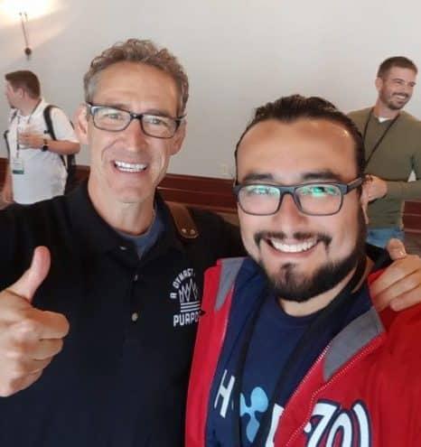 Jim Cockrum y Héctor Sosa